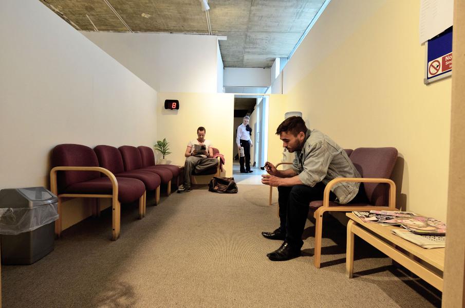 The Waiting Room - Naomi Fitzsimmons